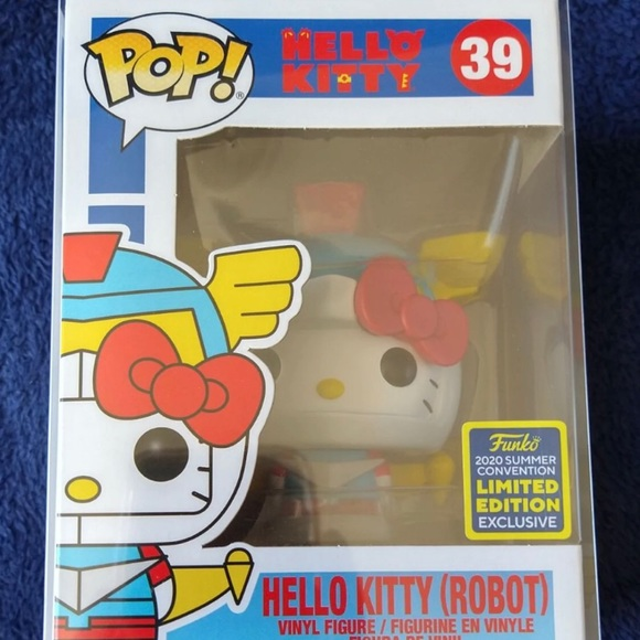 Hello kitty robot Funko Pop